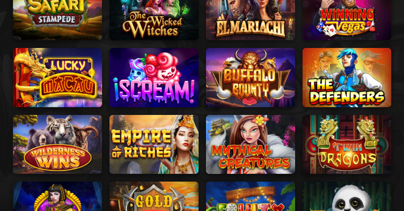 dragongaming's library of slot games