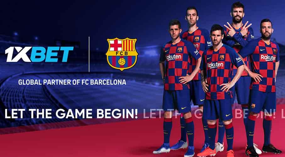 1xBet and FC Barcelona Sign Five-Season Global Partnership