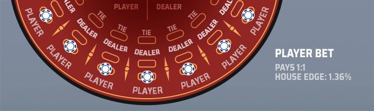 player bet layout diagram