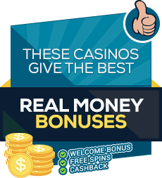 Recommended online casinos with free bonuses