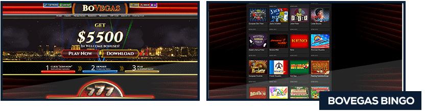 bovegas bingo screenshot