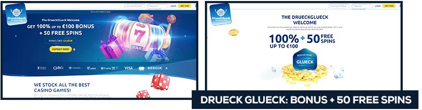 drueck glueck free spins