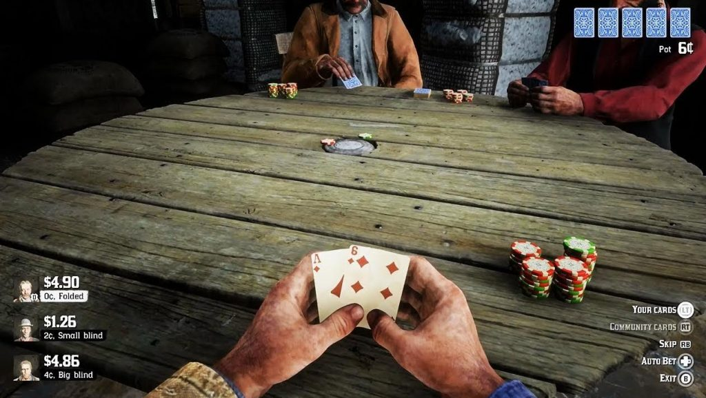 red dead redemption 2 wild wild texas holdem