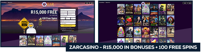 screenshot zar casino