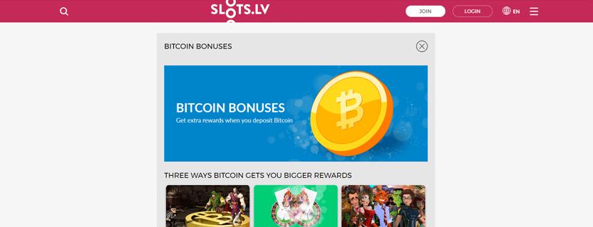 slots.lv promotion screenshot