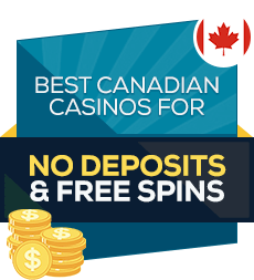 image of the best free spin and no deposit casino bonuses in canada