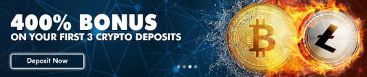 cryptocurrency deposit bonus for rich casino