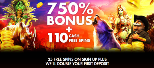 image of Rich Casino welcome bonus