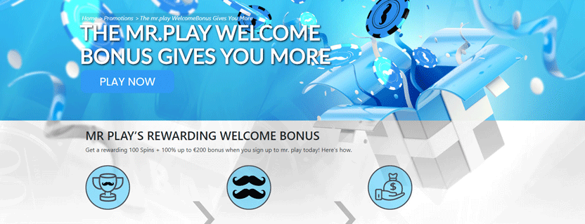 mr play low deposit bonus
