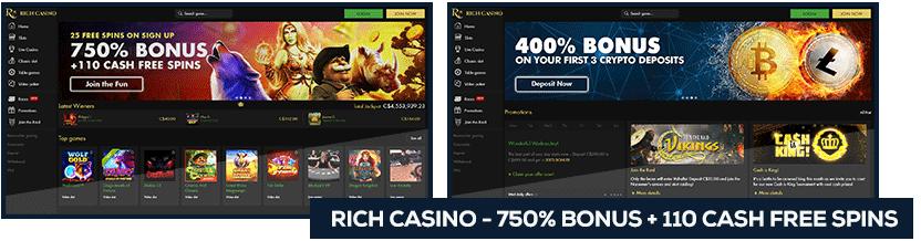 screenshot rich casino