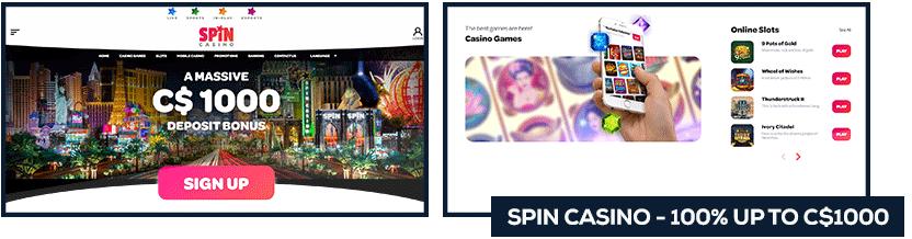 screenshot spin casino