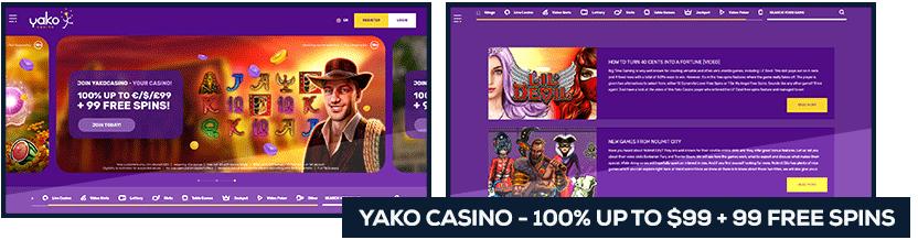 screenshot yako casino