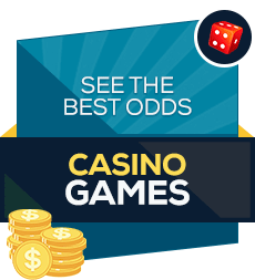 The best odds casino games badge