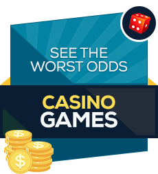 The worst odds casino games badge