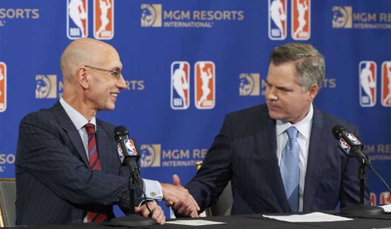 MGM and NBA Sports Betting Partnership
