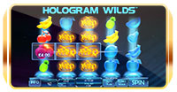 hologram wilds playtech screenshot