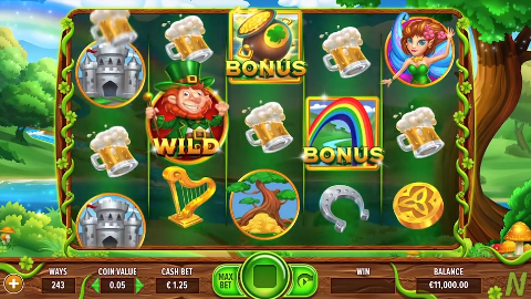 netgaming-game-leprechauns-loot-gameplay