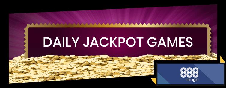 888Bingo Daily Jackpot
